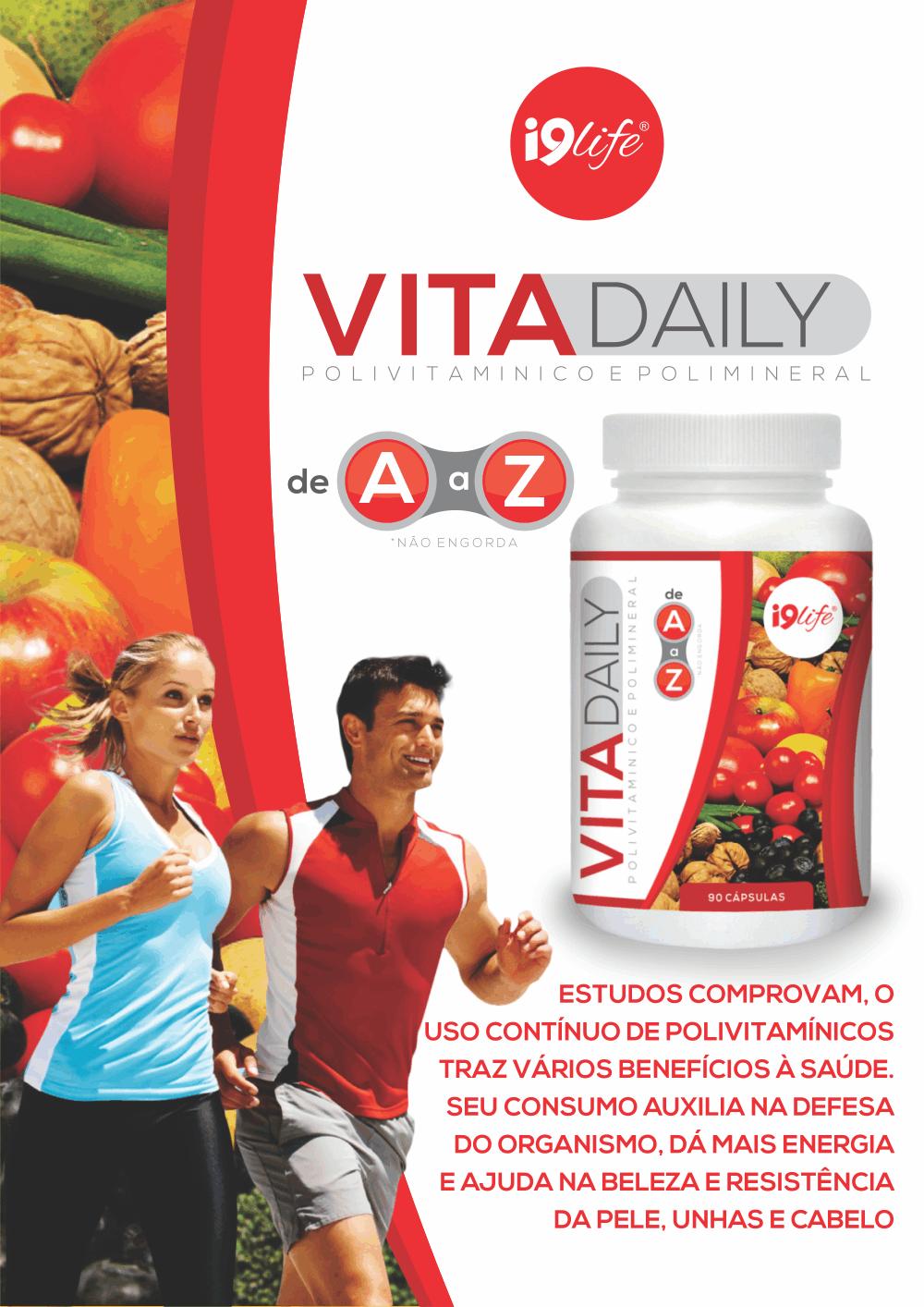 ficha nutricional vita daily i9life