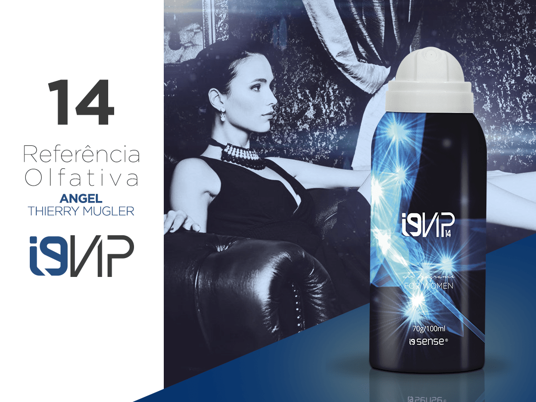 i9Vip 14 Aerossol 100ml ANGEL 3