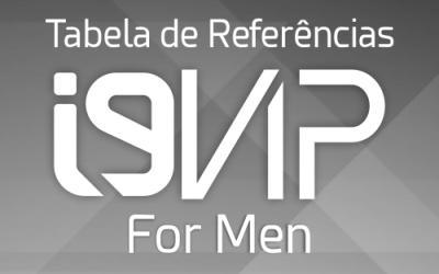 Tabela de Referência i9Vip para Homens