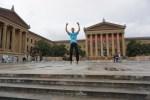 Muzeum of Art - Filadelfia - Schody Rocky'ego