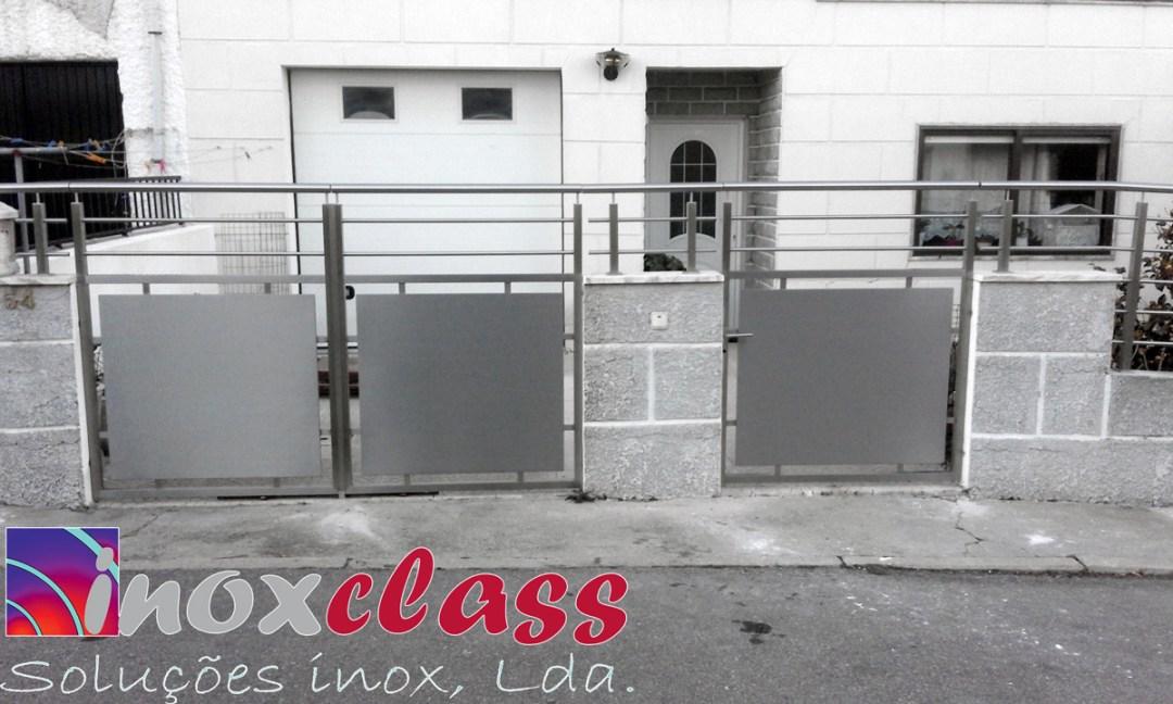 Portões de Inox