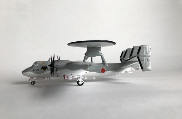 E-2C横から機首