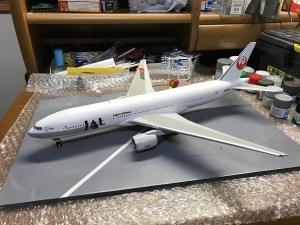 完成JAL B777