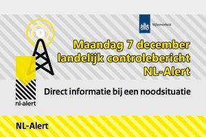 NL-Alert controlebericht