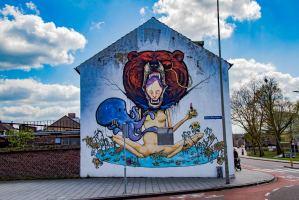 Heerlen Murals - Eerbetoon