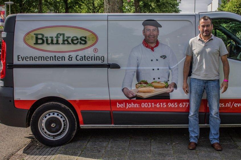 Het gezicht van Bufkes