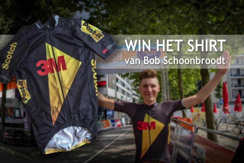 Winactie shirt van Bob Schoonbroodt