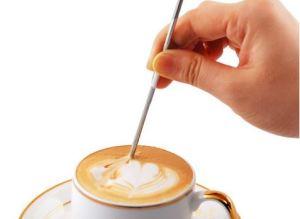 Иглы для рисунков на кофе