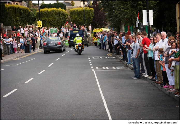 Tour of Ireland Crowds
