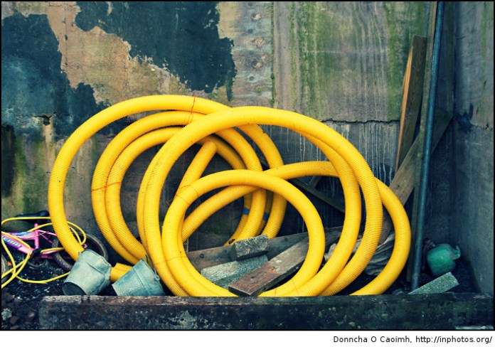 yellow pipes