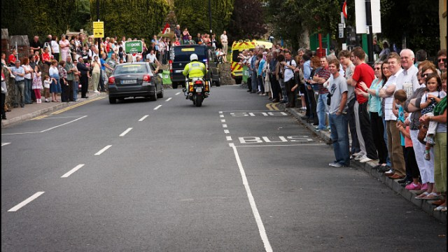 Tour of Ireland Crowds