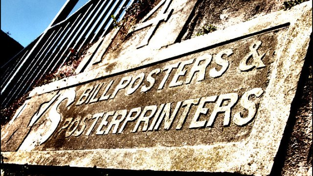 Bill Posters & Poster Printers