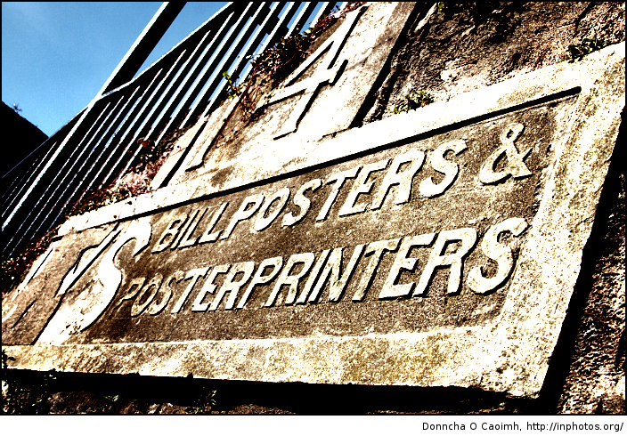 Bill Posters & Poster Printers