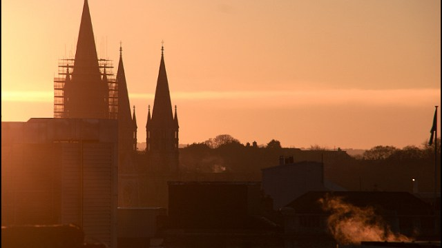 Saint Finbarre's Sunset