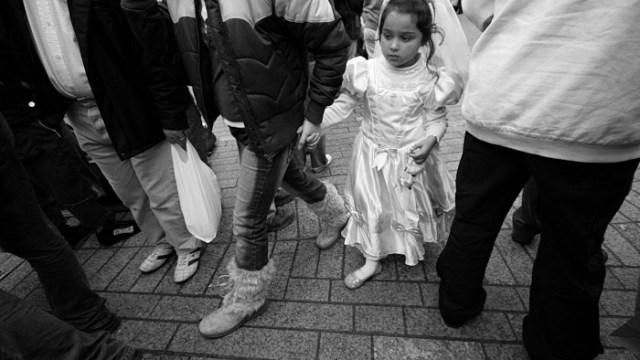 Little Communion Girl