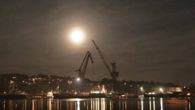 The Moonlit Shipyards