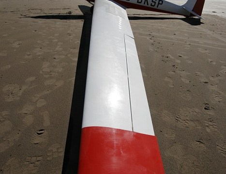 G-BKSP on Inch Strand