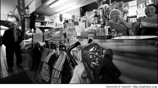 Laughter in the English Market