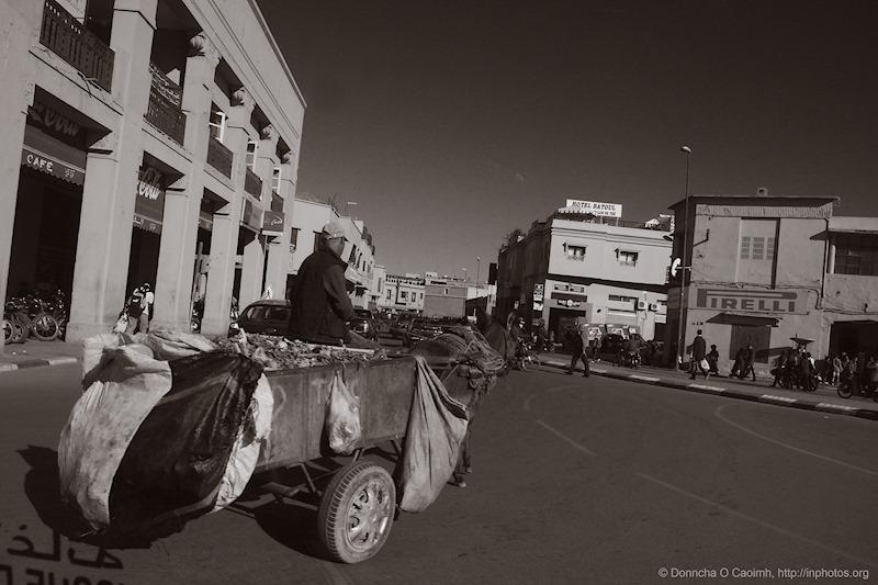 Traffic in Marrakesh