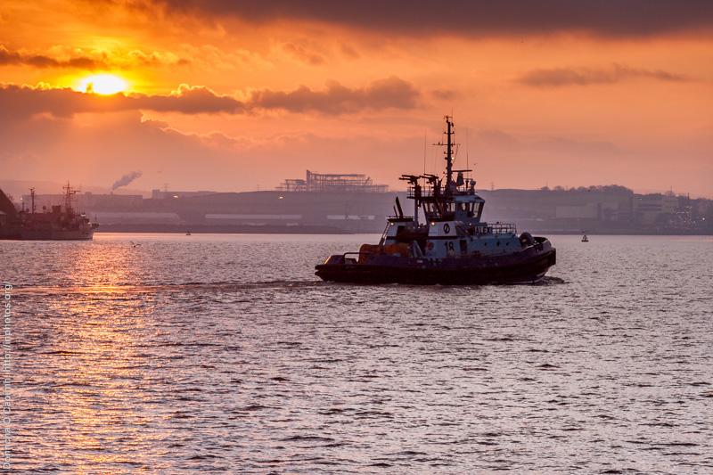 Alex, Cork Tugboat