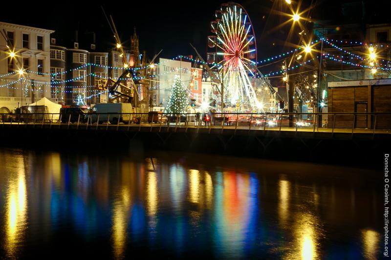 The big wheel in Cork