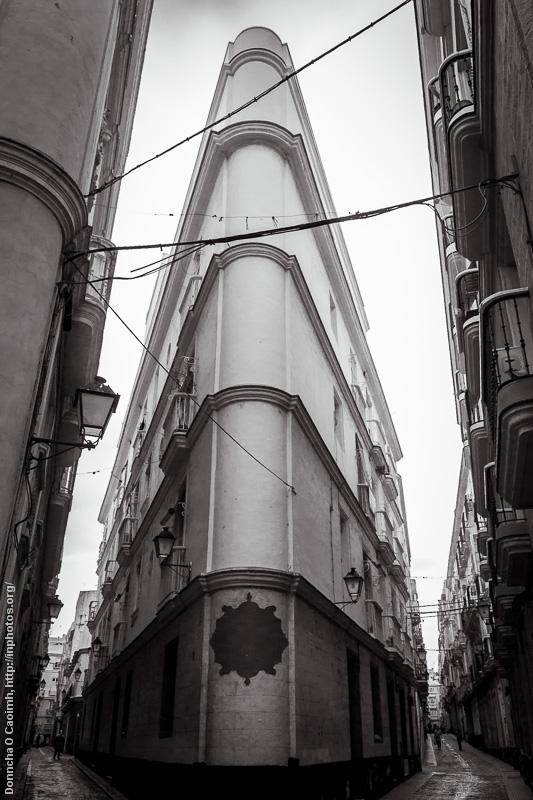 Street Corner in Cádiz