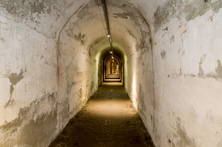 Tunnel to the Magazine