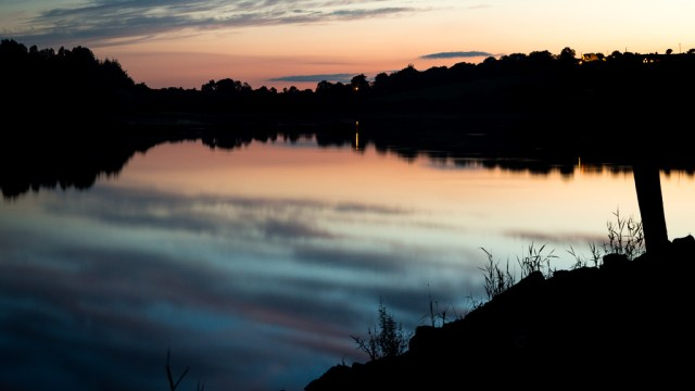 Sunset over Inniscarra