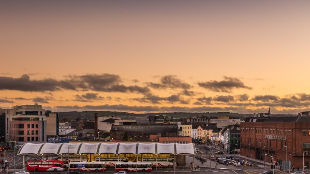 Cork City Sunset