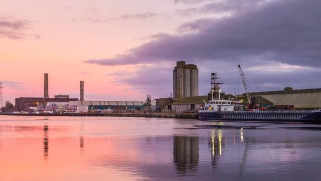 Cork Harbour Sunset