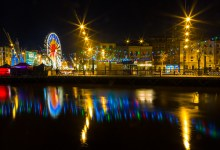 Ferris Wheel and Lights