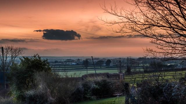 Sunset Near Killeagh