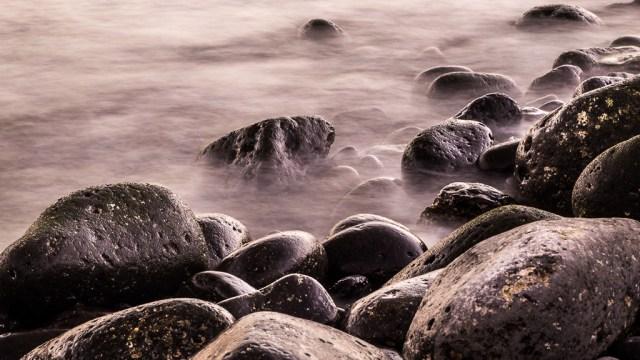 Rocks of Playa Blanca