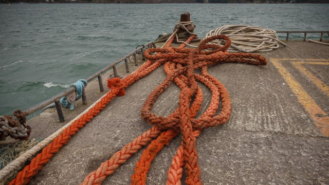 Ropes on Schull Pier