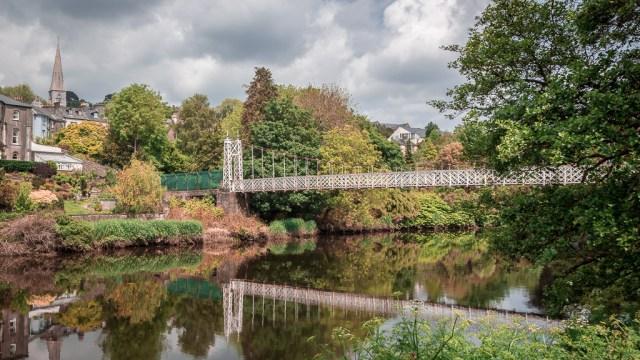 The Shakey Bridge in Psuedo IR