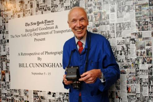 Bill Cunningham== The NEW YORK TIMES & BERGDORF GOODMAN Celebrate a Photography Retrospective by BILL CUNNINGHAM== Bergdorf Goodman, NYC== September 10, 2008== © Patrick McMullan== Photo - JOE SCHILDHORN/PatrickMcMullan.com== ==
