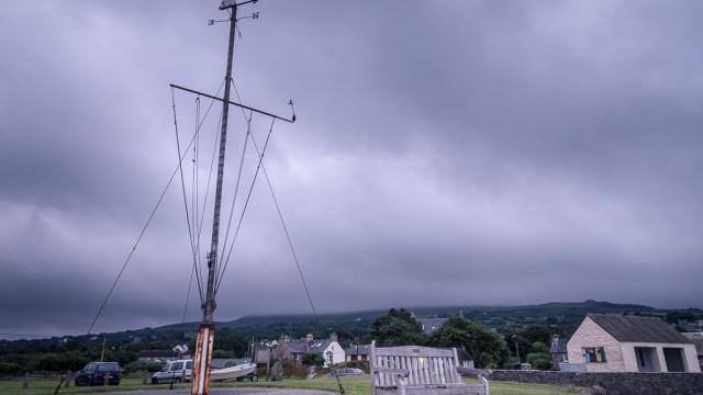 Clouds over Newport