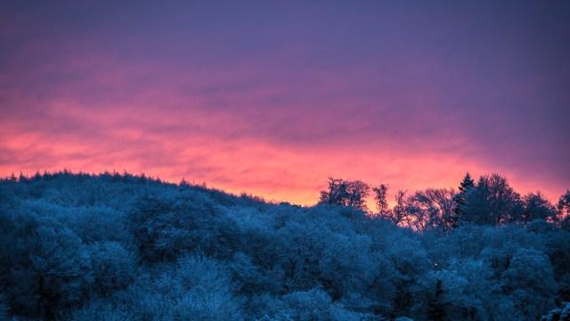 Colourful Sunrise in Blarney