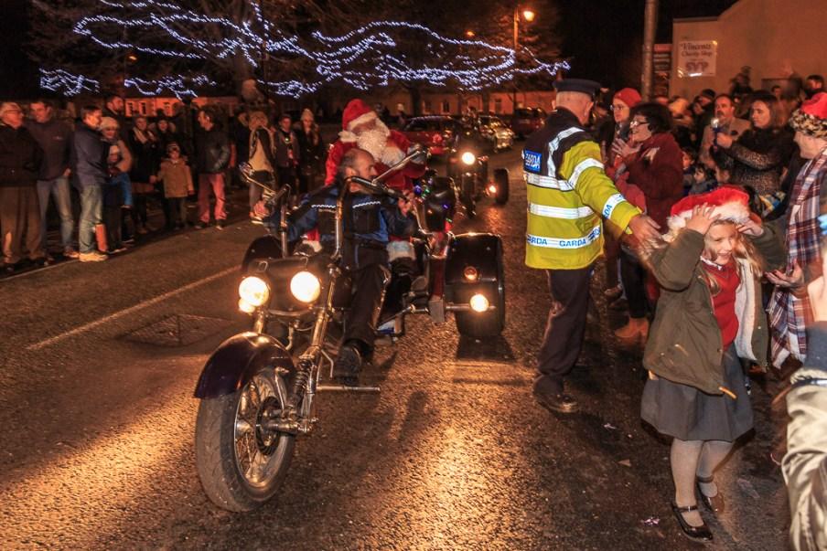 Santa in Blarney