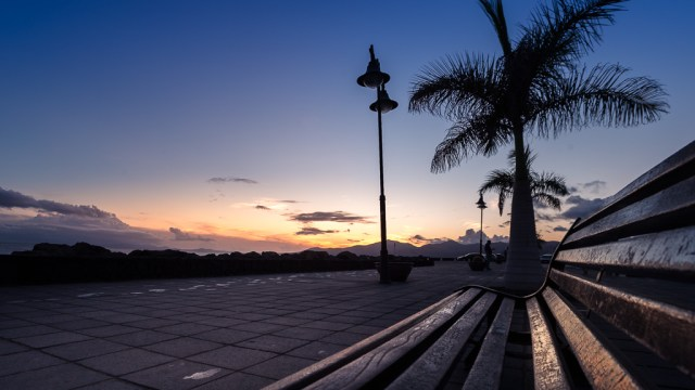 Sunset in Puerto del Carmen