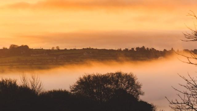 Fog Rolls into Blarney