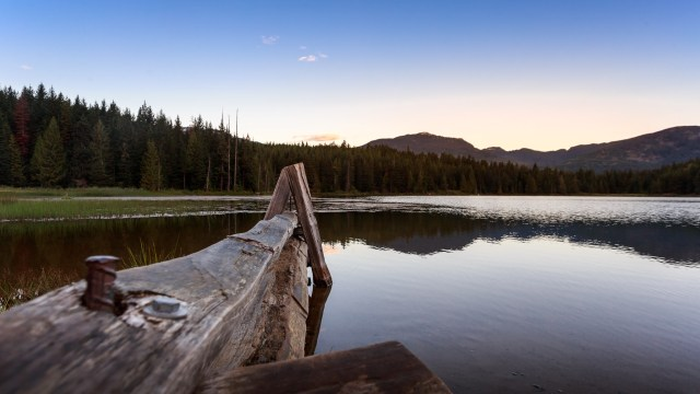 Lost Lake at Sunrise