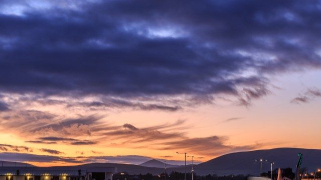 Sunset over Dingle