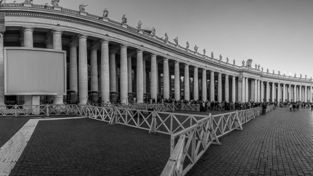 St Peter's Square Panorama