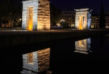 The Temple of Debod at Night