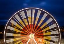 The Spinning Ferris Wheel