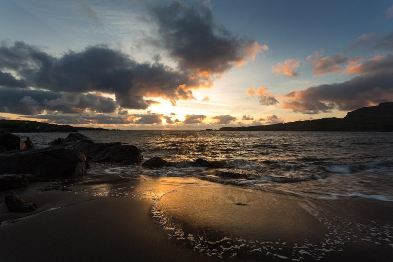 Sunset at Glencolmcille