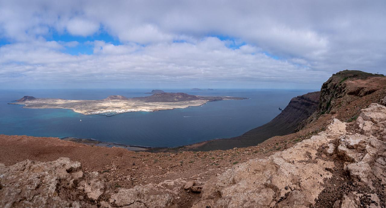 The view from Mirador Del Rio Scenic Road