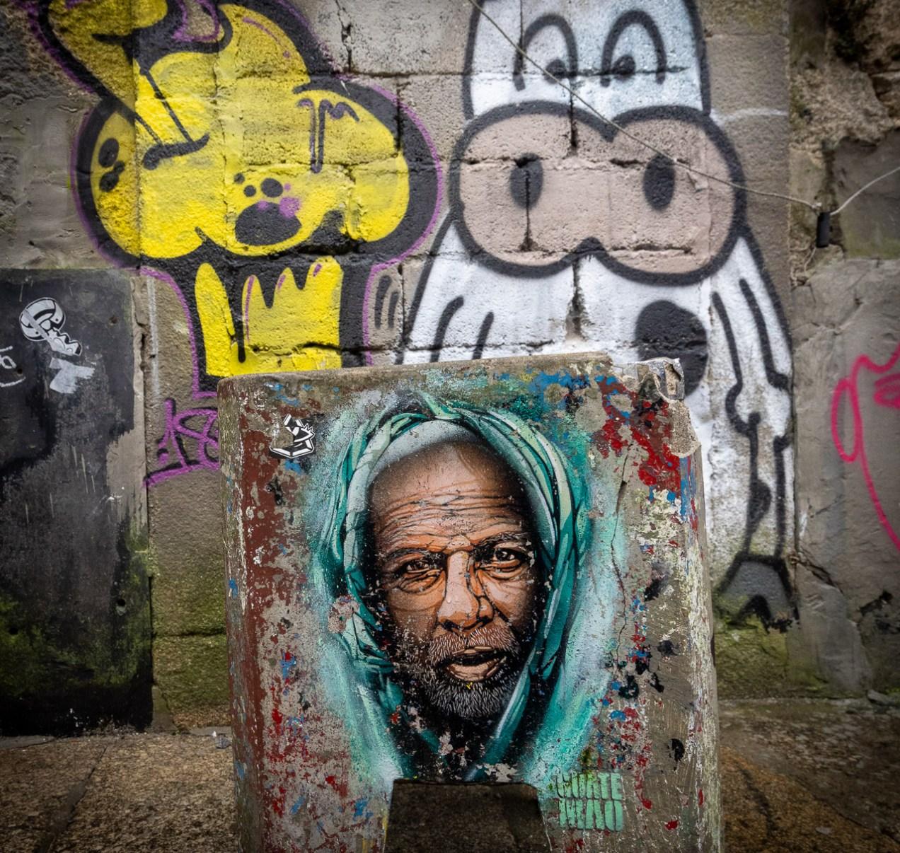 The Face in the Graffiti