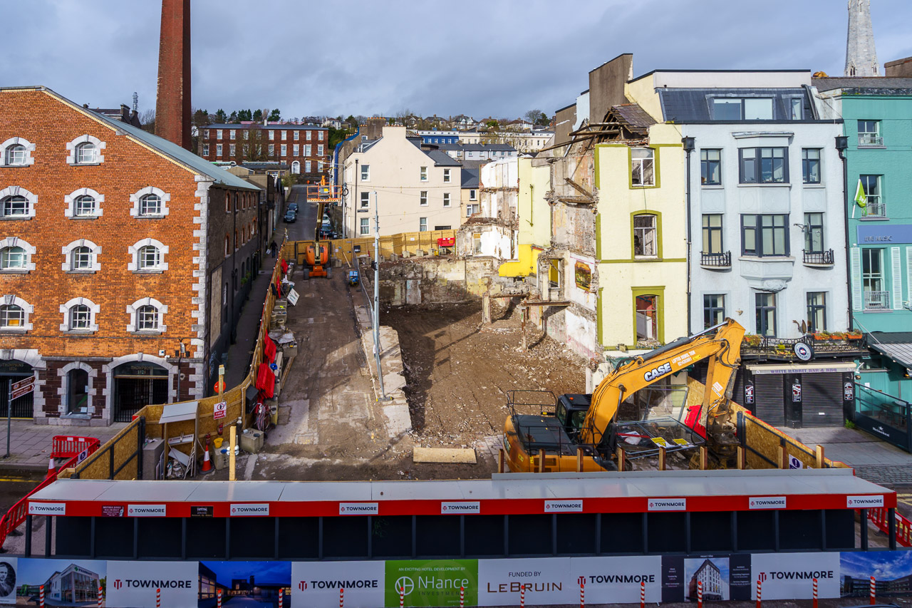 MacCurtain St Construction Site